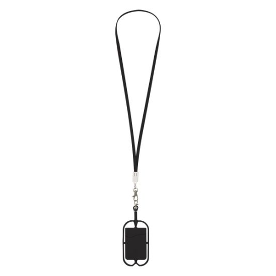 Picture of 2-IN-1 CHARGING CABLE LANYARD WITH PHONE HOLDER & WALLET
