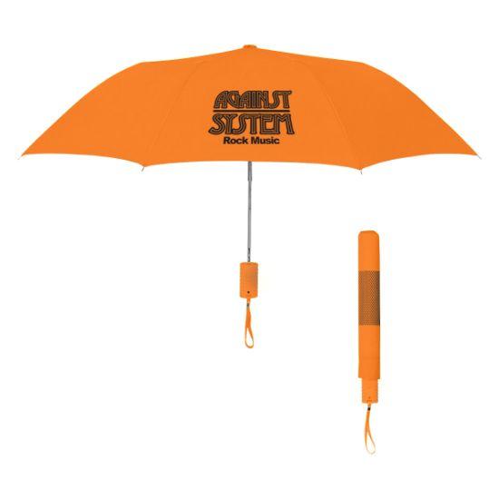"Picture of 42\"" Arc Neon Telescopic Folding Umbrella"
