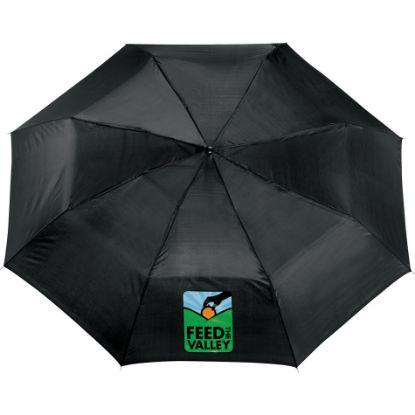 "Picture of 42\"" Auto Open Folding Umbrella"