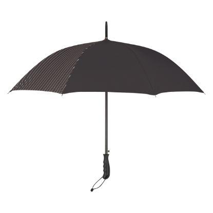 """Picture of 46\"""" Arc Stripe Accent Panel Umbrella"""