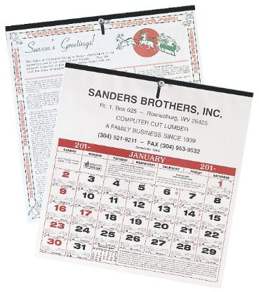 "Picture of 6-Sheet Almanac Calendar -11-1/2\"" x 11\"""