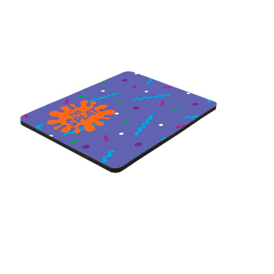 """Picture of 6\"""" x 8\"""" x 1/8\"""" Full Color Hard Mouse Pad"""