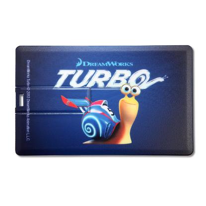 Picture of Broadview Credit Card USB Flash Drive- 4 GB -Black