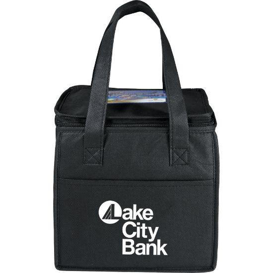 Picture of Cube 9-Can Non-Woven Lunch Cooler Bag