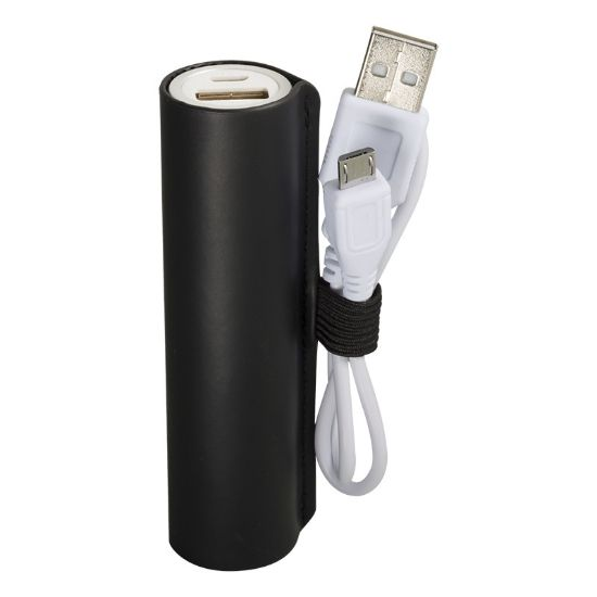 Picture of Custom Tuscany™ Cylinder Power Bank - UL Certified