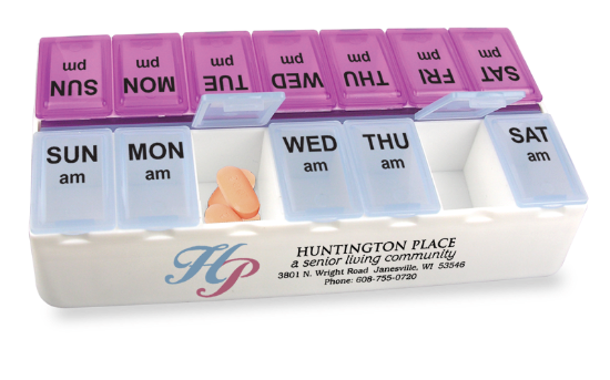 Picture of Daily Reminder 7-day Medicine Tray