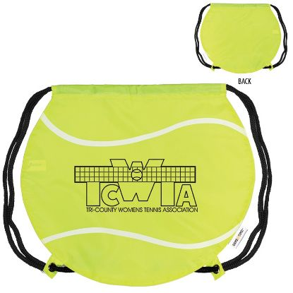 Picture of GAMETIME!® TENNIS BALL DRAWSTRING BACKPACK