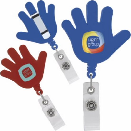 Picture of Hi Five Retractable Badge Holder/Reel