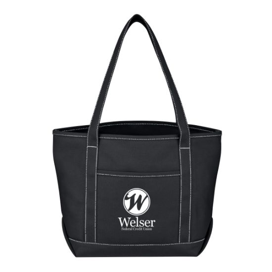 Picture of Medium Cotton Canvas Yacht Tote Bag