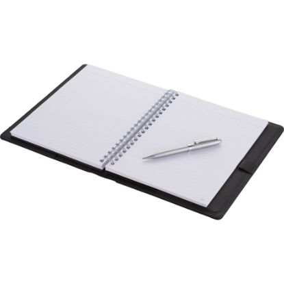 """Picture of Modena Large Lined Refillable JournalBook™ - 10.75\"""" H X 8.5\"""" W"""