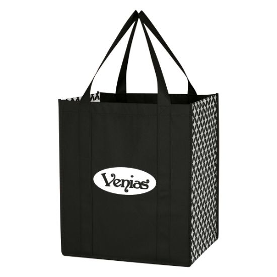 Picture of Non-Woven Frequent Grocery Shopper Tote Bag