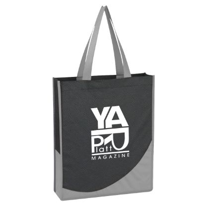 Picture of Non-Woven Tote Bag With Accent Trim