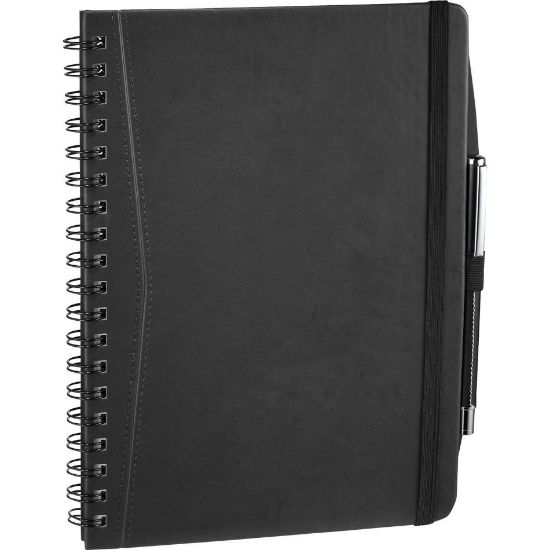 "Picture of Pedova™ Large Wire Bound Spiral JournalBook™ - 10\"" H X 0.5\"" D X 7\"" W"