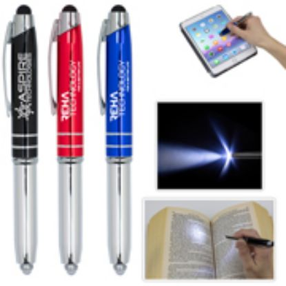 Picture of Pen with Stylus and 5 Lumen LED light