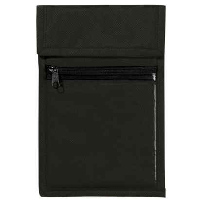 Picture of Non-Woven Neck Wallet Badge Holder Pouch