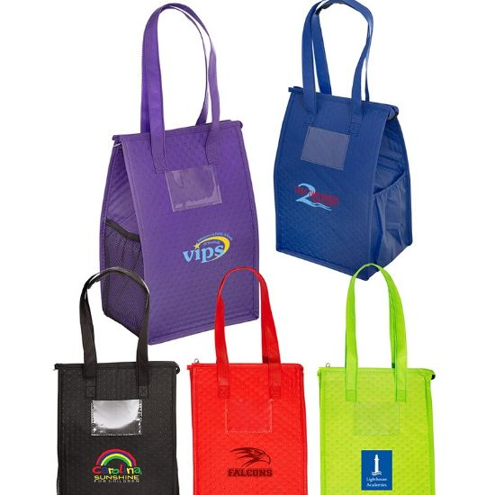 Picture of Snack Size Non-Woven Lunch Cooler Bag
