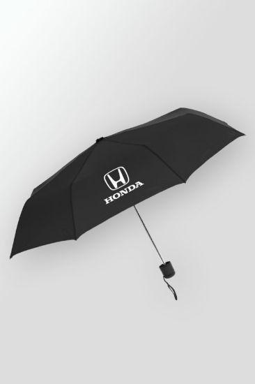 "Budget – Mini Folding Customized Folding Umbrella with Logo – 42"" arc"