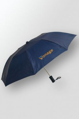 "Budget – Folding Customized Umbrella with Logo – 42"" arc"